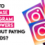How To Increase Instagram Followers Without Paying For Ads?