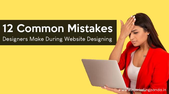 Website Designing Mistakes