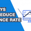 3 Ways To Reduce Your Bounce Rate